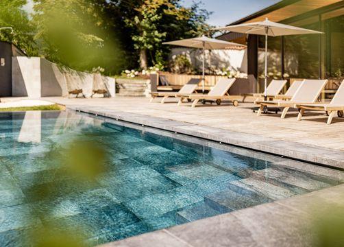 Tauber's Bio-Vitalhotel: Hotel mit Schwimmbad - Tauber's Bio-Wander-Vitalhotel, St. Sigmund, Trentino-Südtirol, Italien