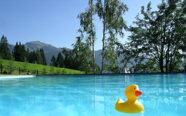 Biohotel Grafenast Freischwimmbad von Mitte Juni bis Mitte September