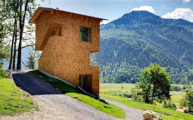 Biohotel Tannerhof: alpine Architektur