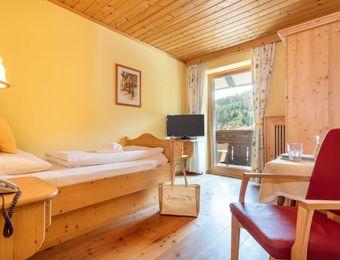 Single room organic wellbeing with balcony - BioVitalHotel Sommerau
