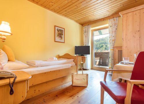 Single room organic wellbeing with balcony (1/3) - BioVitalHotel Sommerau