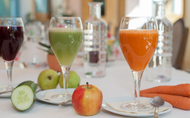 Biohotel Sommerau: Obst-Gemüsesaft Buchinger Fasten