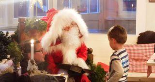 Ho, ho, ho heißt es zu Weihnachten in Schmilka!
