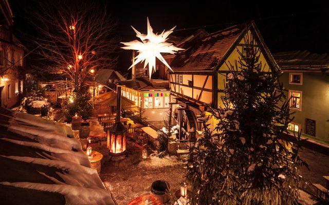 Winterdorf Schmilka: Mühlenhof