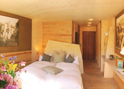Helvetia Eco comfort room with balcony (1/5) - Bio- & Nationalpark Refugium Schmilka