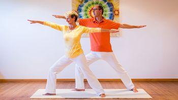 Yoga-Workshop im Biohotel Schweitzer