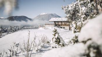Biohotel Schweitzer Winterlandschaft
