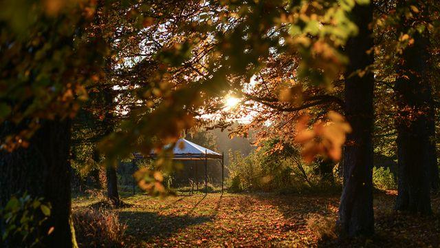 Herbststimmung am See 4=3