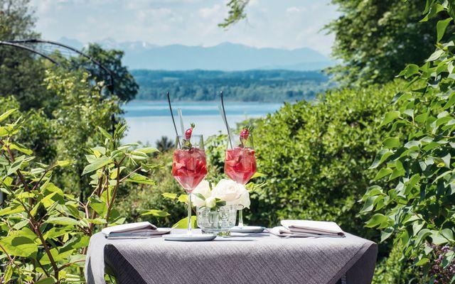 Biohotel & Schlossgut Oberambach: Ausblick auf den Starnberger See
