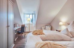 Camera doppia naturalmente sana con vista giardino garden (9/10) - Schlossgut Oberambach