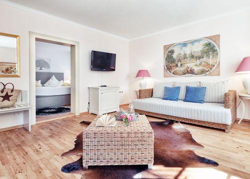 Junior suite Kleydorff con vista lago (1/3) - Schlossgut Oberambach