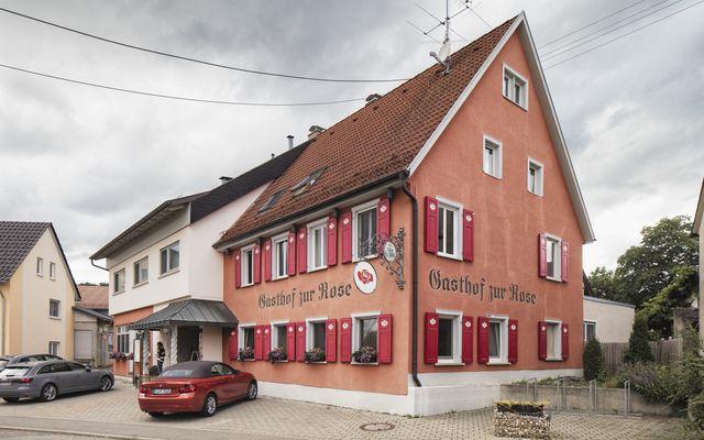 Biohotel Rose: Restaurant von Außen