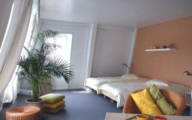 Biohotel L'Aubier Café-Hotel: Zimmer