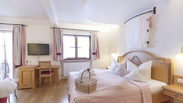 Bio-Romantik-Doppelzimmer Lavendel Süd