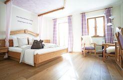 "Organic Romantic Double Room ""Lavender"" South (2/3) - moor&mehr Bio-Kurhotel"