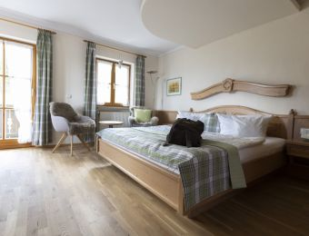 "Organic Romantic Double Room ""Lavender"" South - moor&mehr Bio-Kurhotel"