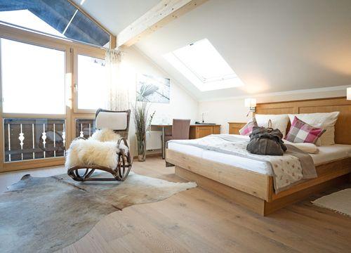 Biohotel moor&mehr Zimmer Panorama Suite Wildrose (1/4) - moor&mehr Bio-Kurhotel