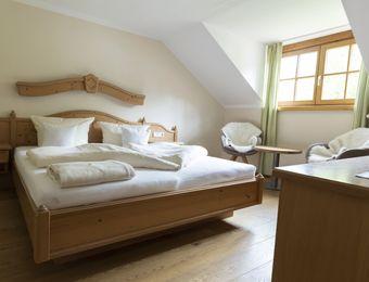 Komfort-Doppelzimmer Holunder ohne Balkon - moor&mehr Bio-Kurhotel