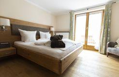 Biohotel moor&mehr Doppelzimmer Minze mit Südterrasse (3/5) - moor&mehr Bio-Kurhotel