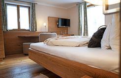 Biohotel moor&mehr Doppelzimmer Minze mit Südterrasse (5/5) - moor&mehr Bio-Kurhotel