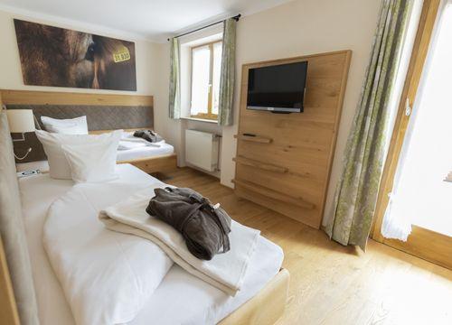 Biohotel moor&mehr Zweibettzimmer Minze (1/1) - moor&mehr Bio-Kurhotel