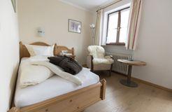 Biohotel moor&mehr Einzelzimmer Komfort Minze (3/4) - moor&mehr Bio-Kurhotel