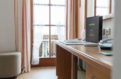Biohotel moor&mehr Einzelzimmer Komfort Minze (2/4) - moor&mehr Bio-Kurhotel