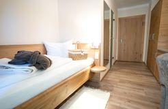 Biohotel moor&mehr Einzelzimmer Minze mit Balkon (3/3) - moor&mehr Bio-Kurhotel