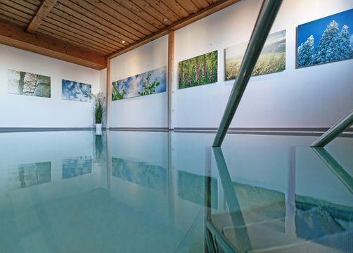 Biohotel moor&mehr: Hallenbad - moor&mehr Bio-Kurhotel, Bad Kohlgrub, Bayern, Deutschland