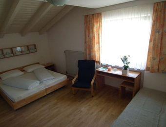 Bio-Mehrbettzimmer ohne Balkon - Landhotel Anna & Reiterhof Vill