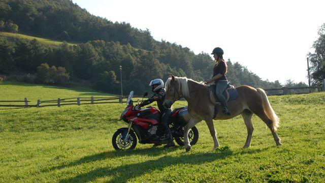 Reiten & Motorradfahren