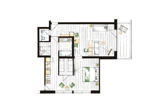 """Comfort Suite de luxe """"Adlerhorst"""" 7/7"""