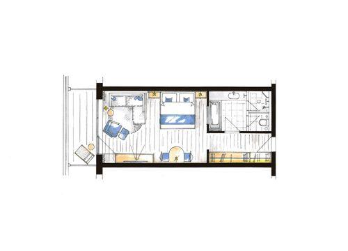 "Comfort Studio ""Paradies"" S 5/5"