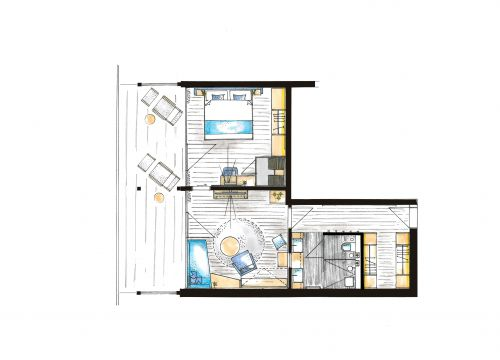 "Comfort suite ""Hochgrat"" 4/4"