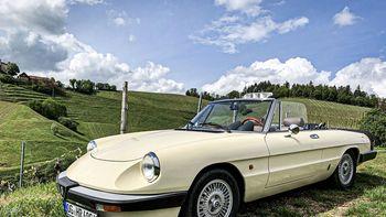 Alfa Romeo, Spider, Oldtimer, Cabrio