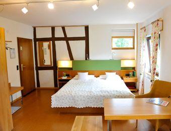 Öko-Doppelzimmer - Bio-Hotel Forellenhof