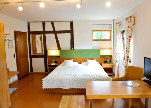 Biohotel Forellenhof Bad-Endbach Ökozimmer (1/2) - Bio-Hotel Forellenhof