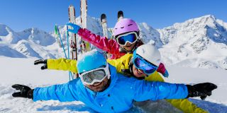 Winter family ski package
