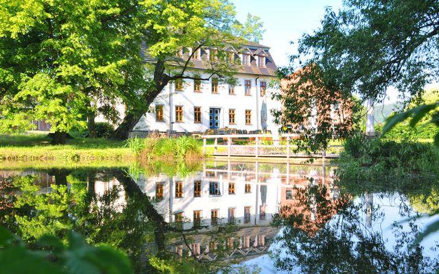 Biohotel Stiftsgut Wilhelmsglücksbrunn: In der Mitte Deutschlands