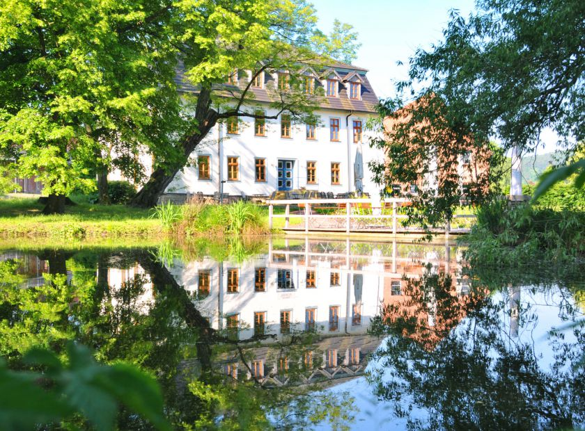 Biohotel Stiftsgut Wilhelmsglücksbrunn, Creuzburg, Turingia, Germania (1/18)