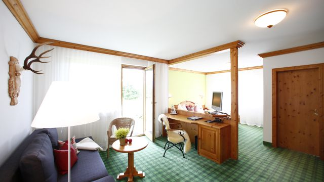 "Double room ""Landhaus"" (country house) with terrace"