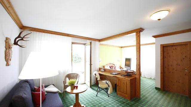 Doppelzimmer Landhaus mit Terrasse