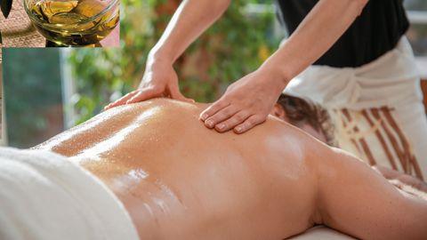 Massage bien-être Vital Oase avec huile d'aromatique