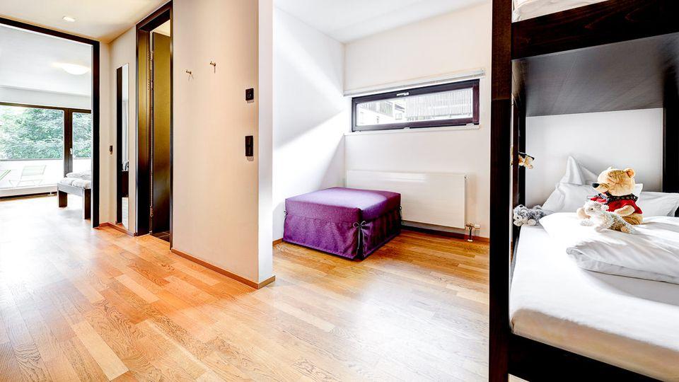 Familiensuite Mottakopf 38m² + 7m² Balkon