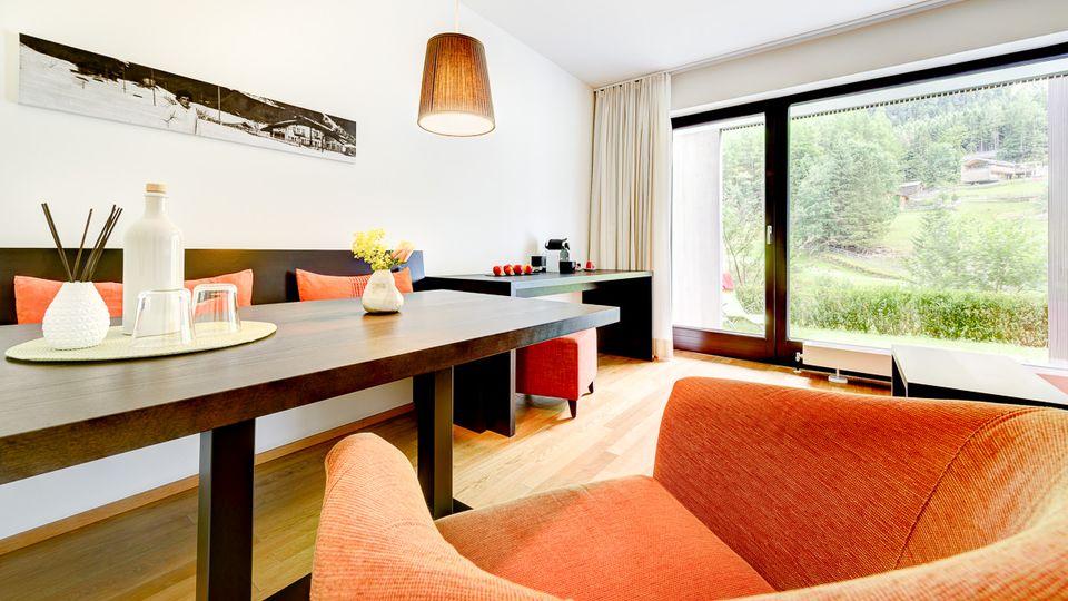 Familiensuite Älmele 47m² + 14m² Balkon oder Terrasse