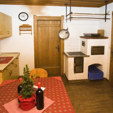 Kitchen, Auhofalm, Jochberg, Tirol, Tyrol, Austria