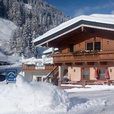 Winter, Hochlandhäusl in Kirchberg, Tirol, Tyrol, Austria