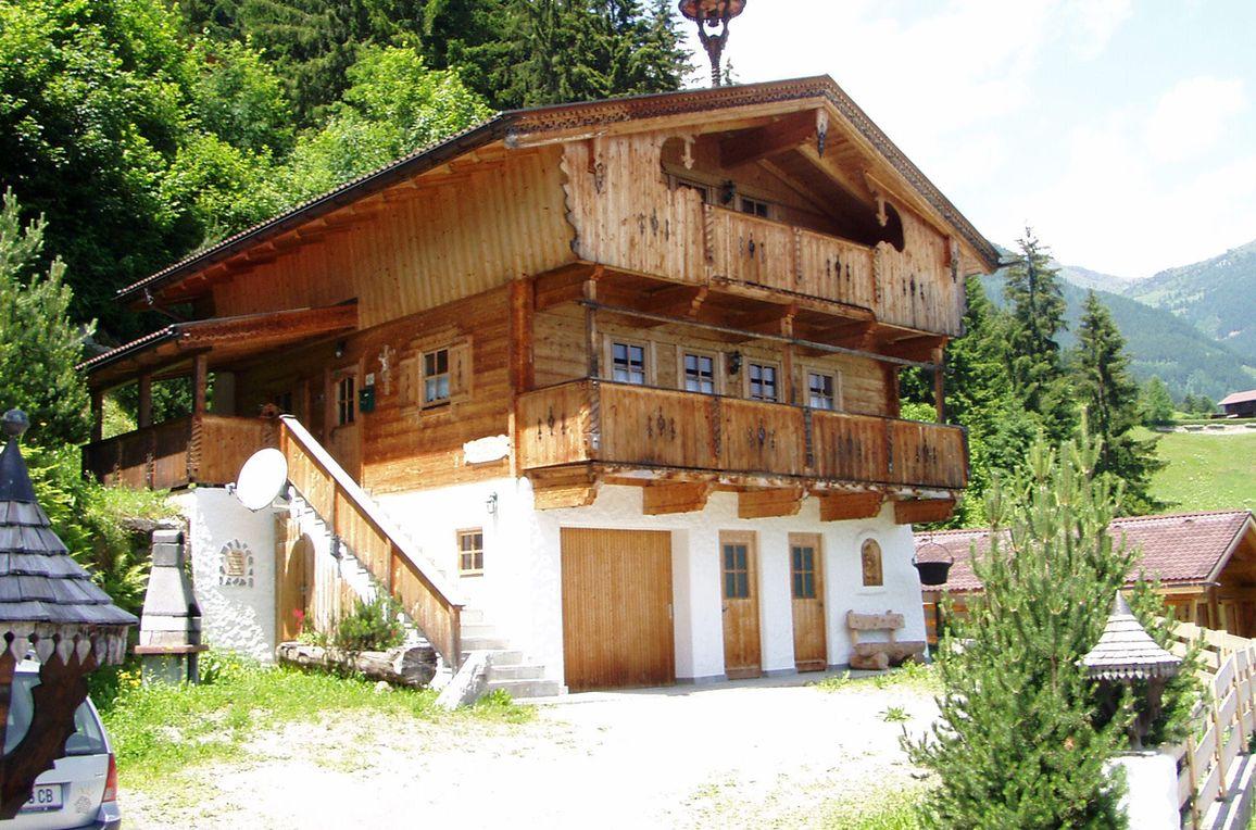 Magdalena Hütte, Frontansicht2