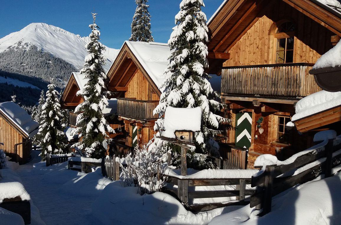 Kaiser-Franz-Josef Hütten , winter