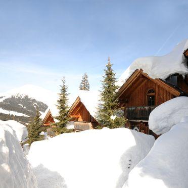Winter, Kaiser-Franz-Josef Hütten in Hochfügen, Tirol, Tirol, Österreich